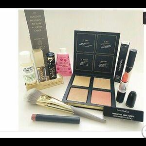 High End Makeup Lot Huda Beauty MAC Stila Morphe